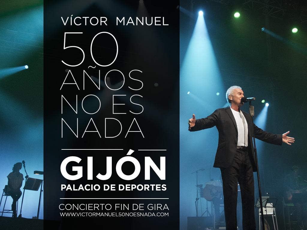 v ctor manuel informaci n til concierto gij n fin de gira On conciertos gijon 2016